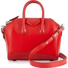 Givenchy Antigona Mini Calf Leather Satchel Bag - Brought to you by Avarsha.com