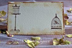 Pecséttel készült vintage ültetőkártya, választható színnel. www.popupwedding.hu Facebook: Pop-up Wedding
