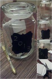 AT THE PARK'S: DIY Memory Jar