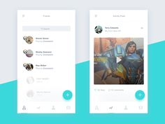 Hello dribbble!  Here's my debut shot. This is an app called Eco. Eco allows gamers and their friends to share what games they're playing, post achievements and highlights, and build teams. Users w...