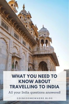 Travelling to India | A comprehensive blog post on everything that you need to know about travelling to India, including solo female travel tips. This post will answer all your Indian travel questions! #solotravel #india #solofemaletravel #indiatravel #faqs