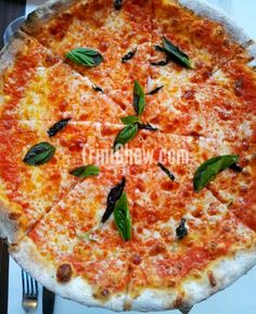 Great places for PIZZA in Trinidad & Tobago (Buzo's Margherita Pizza)