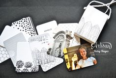 Stampin' Up ideas and supplies from Vicky at Crafting Clare's Paper Moments: No sewing pouch and Project Life mini album - Stampin' Up Artisan blog hop.  An amazing use of products!