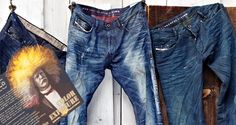 Diesel Men's Denim - Color Exposure