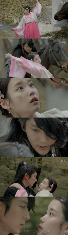 [Spoiler] Added episode 1 captures for the #kdrama 'Scarlet Heart: Ryeo'
