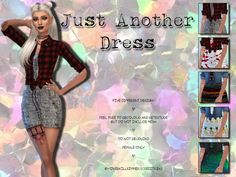 Simsworkshop: Just Another Dress by OverkillSimmer • Sims 4 Downloads