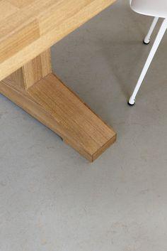 Linoleo Marmoleum Concrete - Comedor Interior Casa | Flickr - Photo Sharing!