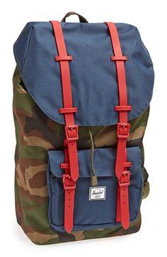 Herschel Supply Co. Camo Red/Navy Backpack
