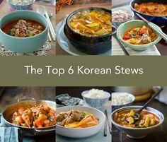 The Top 6 Korean Stews