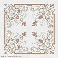 Stencil Patterns, Stencil Designs, Painting Patterns, Ceiling Design, Wall Design, Pattern Illustration, Applique Quilts, Shanghai, Damask