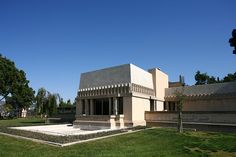 Hollyhock House - (1919-23) Frank Lloyd Wright for Aline Barnsdall - East Hollywood, Los Angeles