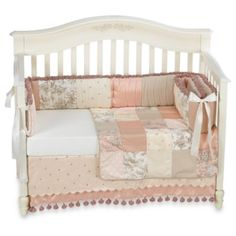 Another girl set idea: Madison 4-Piece Crib Bedding by Glenna Jean - buybuyBaby.com
