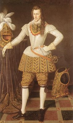 Henry Wriothesley, 3rd Earl of Southampton. (National Portrait Gallery, London)c. 1601-1603