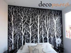 Murales artísticos pintados en paredes para decorar cualquier espacio.