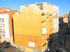 Construyen el primer edificio en España hecho solo con madera