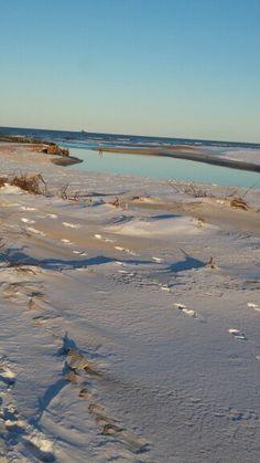 #Uggerby #å #vand #hav #himmel #sand #sne #blå #sky #water #sea #blue #snow
