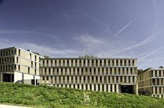 Galería de Edificio de viviendas VPO y aparcamiento de Llobregat / BBarquitectes - 1