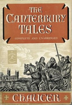 MODERN LIBRARY Canterbury Tales-Chaucer #161 1929  | eBay