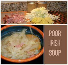 Recipes We Love: Poor Irish Soup