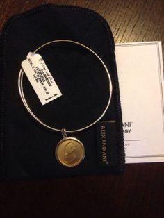 ALEX & ANI Precious Initial  G charm bangle  Bracelet 14k gold Filled PC13B129GG - http://designerjewelrygalleria.com/alex-ani/alex-ani-precious-initial-g-charm-bangle-bracelet-14k-gold-filled-pc13b129gg/