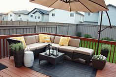 would *love* to do this after re-finishing our deck!