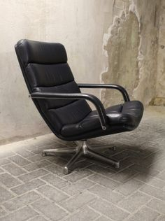 Geoffrey Harcourt F141, Artifort lounge chair vintage design