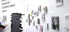 瑞士图书展览:FONTARTE :: fonts :: design Exhibition Display, Museum Exhibition, Exterior Design, Interior And Exterior, Museum Displays, Brick And Mortar, Design Museum, Nhl, Presentation