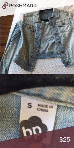 BP jean jacket Just in time for summer!! Light jean color jean jacket. Nordstrom Jackets & Coats Jean Jackets