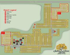Florida Camping, Rv Campgrounds, Rv Rental, Dog Park, Maps, Southern, Blue Prints, Dog Runs