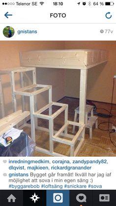Barnrum barnrum diy : Ikea diy säng barnrum inspo | Barnrum, säng | Pinterest | Ikea and ...