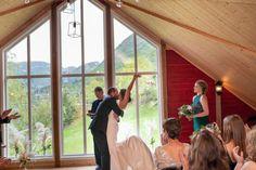 Vielse og bryllup på Øvre-Eide Gård i Bergen Bergen, Eid, Mountains