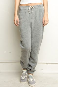 Brandy ♥ Melville | Rosa Sweatpants - Pants - Bottoms - Clothing