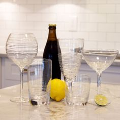 The Whirl Glassware from Urban Barn is a unique home decor item. Urban Barn carries a variety of Glassware and other products furnishings. Unique Home Decor, Home Decor Items, Urban Barn, Vases Decor, Flower Vases, Home Accents, Kitchen Design, Tableware, Beer