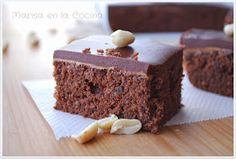 Marisa en la Cocina: Brownie de Cacahuetes y Toffe