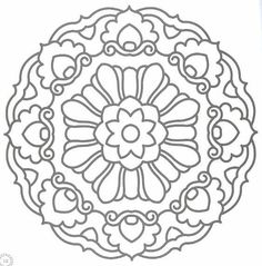 Mandala coloring Page - @Christy Polek Banker, make me a stencil out of this!