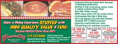 Giannetto's Pizza    Offer 1: $2.00 OFF Any Style Large Pizza PLUS FREE Breadsticks | Offer 2: $3.00 OFF Fettuccini Alfredo | Offer 3: Half OFF any Sandwich