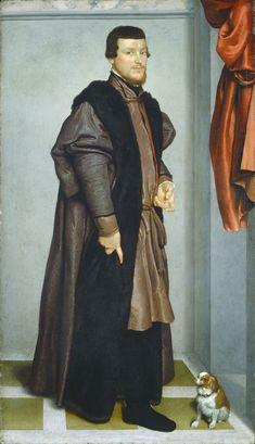 Giovanni Battista Moroni, Portrait of a Man identified as Gian Federico Madruzzo, 1560, Washington, NGA