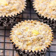 Pina Colada Quinoa Protein Muffins. Use IsaLean, IsaLean Pro, or IsaPro vanilla flavors.