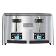 Introducing the stylish stainless-steel Frigidaire Professional™ 4-Slice Wide Slots Toaster. Created for the at-home kitchen professional, this straightforward, no-fuss design features 4 wide a unique Countdown Indicator, so you know when your toast is ready, down to the second. Easy-to-use,... - http://kitchen-dining.bestselleroutlet.net/product-review-for-frigidaire-professional-stainless-4-slice-wide-slots-toaster/