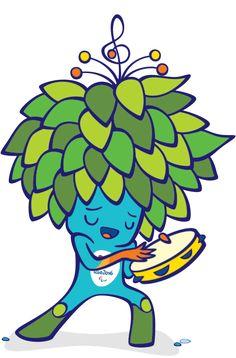 rio olympics mascot  Buscar con Google  Cartoons  Pinterest