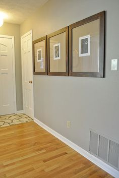 Valspar Woodlawn colonial gray - new Production Office color!