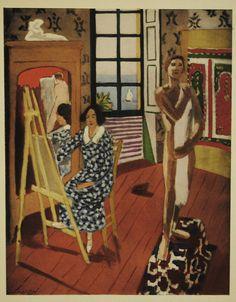 """Henri Matisse - """"La séance de trois heures"""" (1924) - Les Collectionneurs Associés #AsArtColl #AssociatedArtCollectors"""