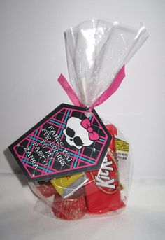 Monster High  Printable Party Favor Tags by PartyInnovations09, $5.00