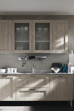 dettaglio cucina moderna stosa - modello cucina city 10