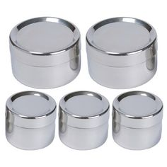 To-Go Ware Stainless Steel Snack Containers - Tiffin Sidekick - 5 Pack Lunch Box Recipes, Baby Food Recipes, Food Tips, Stainless Steel Containers, Snack Containers, Allergy Free Recipes, Clean Dishwasher, Food Storage, Safe Storage