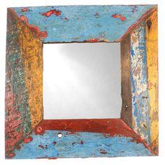 Fab.com | Natural Wood Mirror I