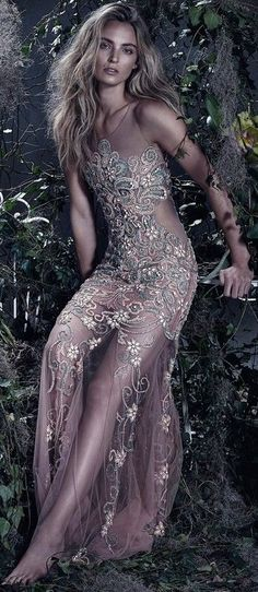 The Enchanted Forest / Fairytale fashion fantasy / karen cox. Ymre Stiekema by Zee Nunes for Patricia Bonaldi Summer 2015
