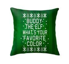 Buddy The Elf Throw Pillow