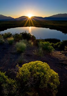 Twin Lake, Great Sand Dunes National Park, Colorado, photo by Stan Rose