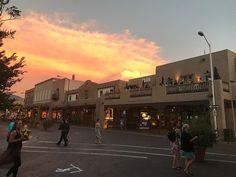 Missing Santa Fe. Fes, Santa Fe, Instagram Images, Street View, Sunset, Color, Colour, Sunsets, Colors